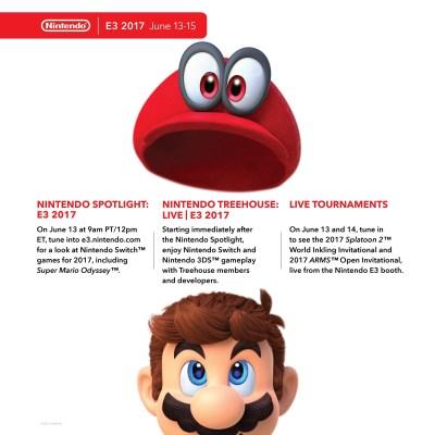 Nintendo E3 2017 Press Conference Schedule - Guide - Nintendo Life
