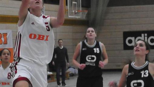 Auch 18 Punkte von Jana Ulbig reichten nicht gegen den zu starken Gast von der BG Litzendorf.