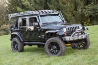 Jeep JK 4dr LOD Sliding Roof Rack Bare Steel