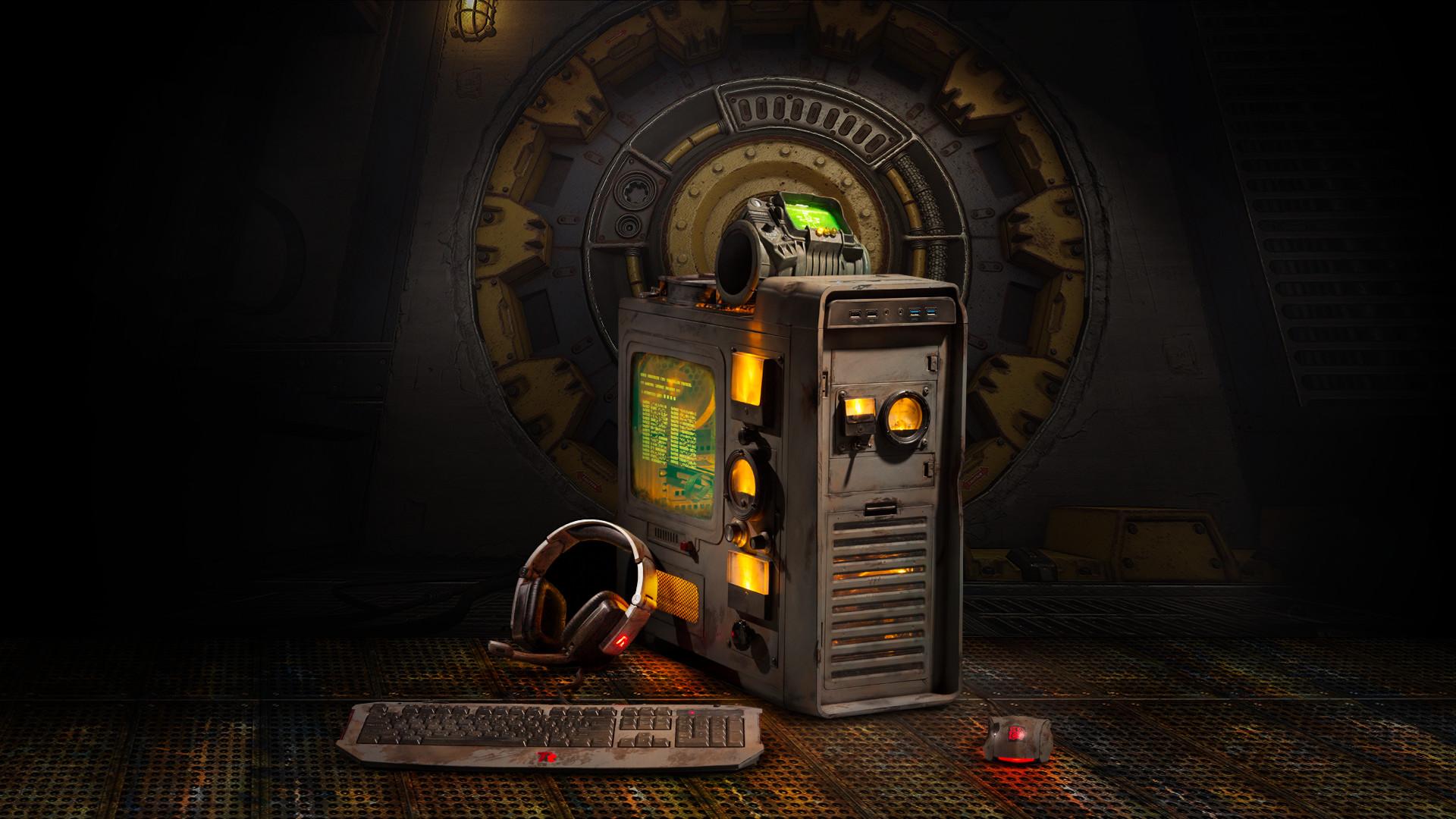 Him Iphone Wallpaper Yidiy Dewayne Carel Amp His Fallout Rig Geforce