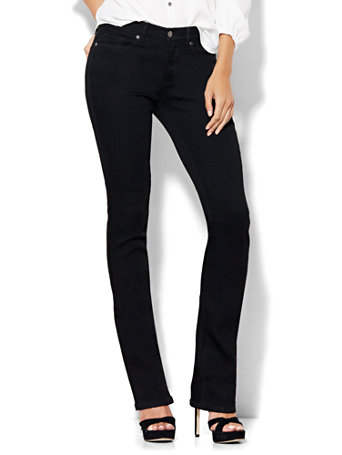 Nyc Soho Jeans Instantly Slimming Bootcut Black