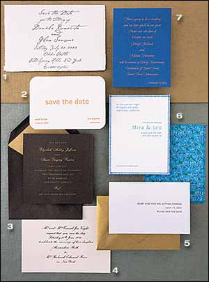 New York Wedding Guide - Paper Trail - Wedding Invitations Gallery