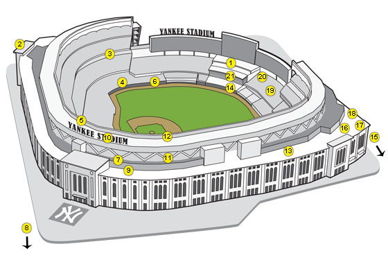 The Best Sight Lines, Eats, and More at the New Yankee Stadium and