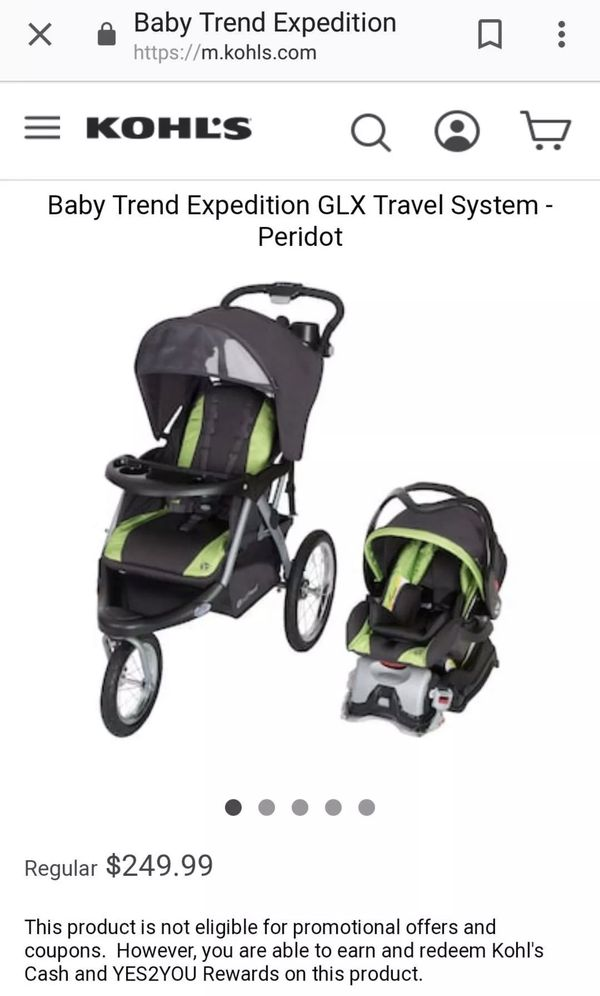 Baby Trend Stroller Car Seat Set Stroller Jogger Baby Trend Expedition Glx For Sale In El