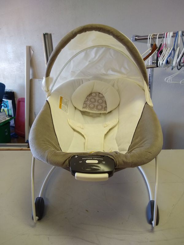 Infant Stroller Used Graco Baby Infant Bouncer Seat Soothing Vibration For Sale