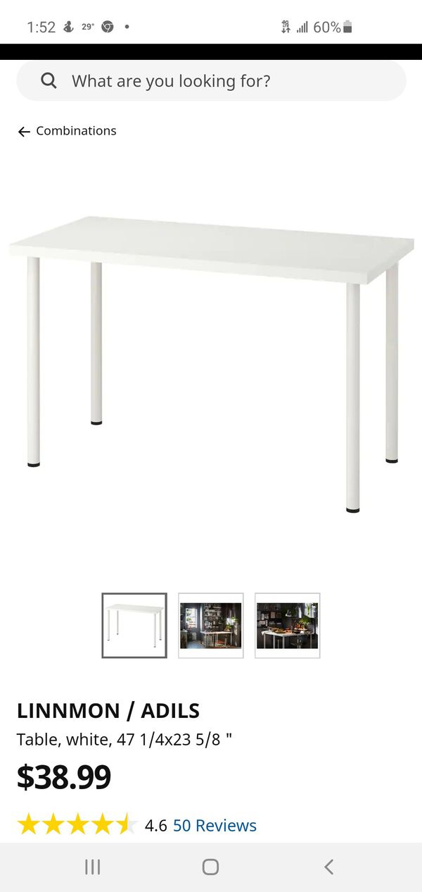 Ikea Adils Table And Chair White Available Until June 30th - Sofas Ikea Oviedo