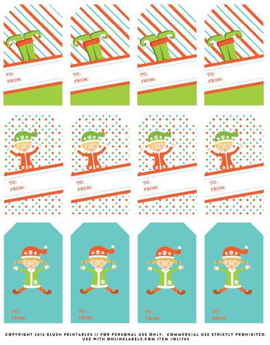 Gift Labels Templates - Download Gift Tags  Label Designs - gift tag template