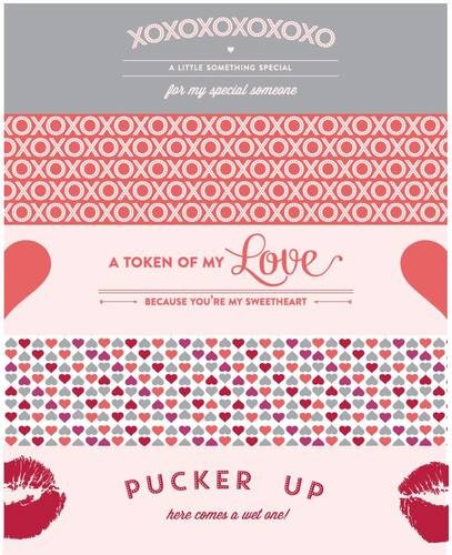 Water Bottle Labels for Valentine\u0027s Day Assorted Printables - Label
