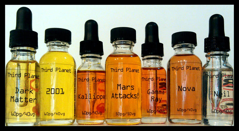 Third Planet e-Liquid Bottle Labels - Customer Ideas - OnlineLabels