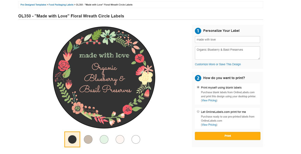 How to Use Pre-Designed Label Templates - OnlineLabels