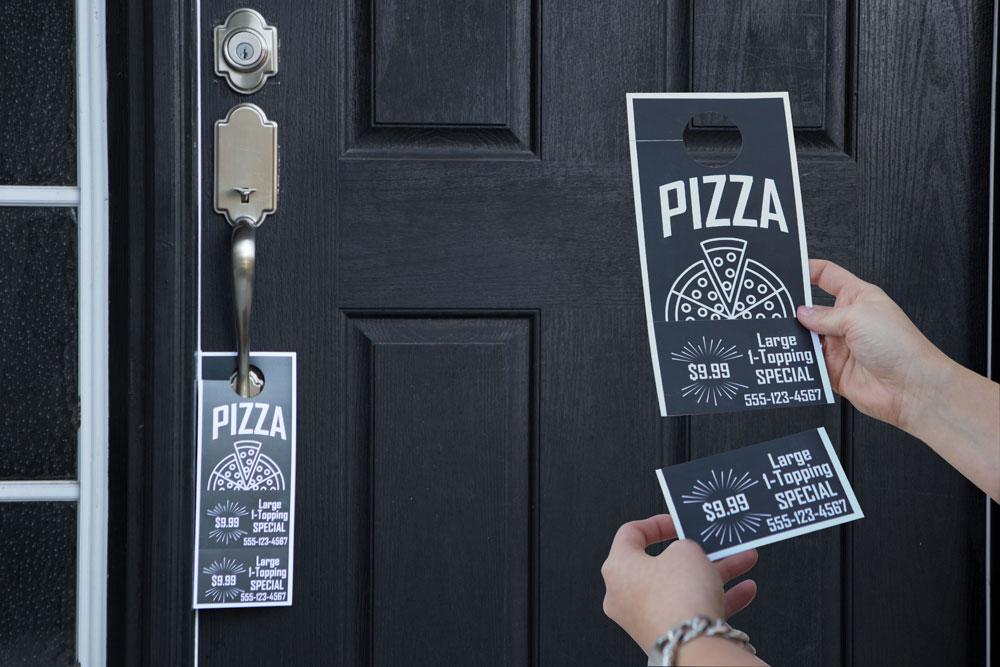 Increase Your Business\u0027 Local Impact with Printable Door Hangers