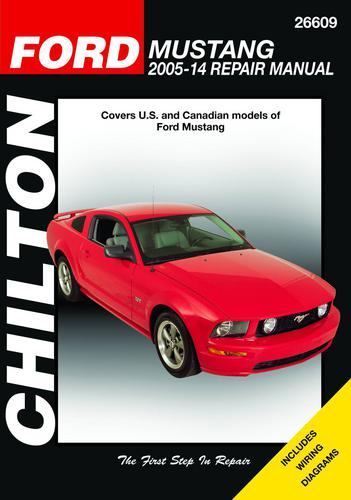 Chilton 05-10 Ford Mustang Technical Specification Book 26609 O
