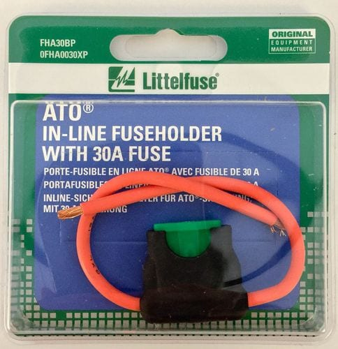 Littelfuse Blister Pack 25 To 30 Amp Fuse Block FHA30BP O\u0027Reilly
