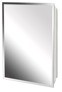 Zenith MP109 Beveled Mirrored Frameless Swing Door ...