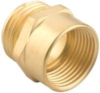 Gilmour 7MH7FP Hose Connector, 3/4 X 3/4 in, Male X Female