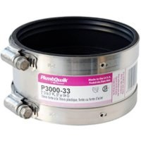 Pro-Flex P3000-33 Shielded Transition Coupling, 3 in x 3 ...