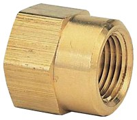 Gilmour 7FP7FH Double Hose Connector, 3/4 X 3/4 in, FNPT X