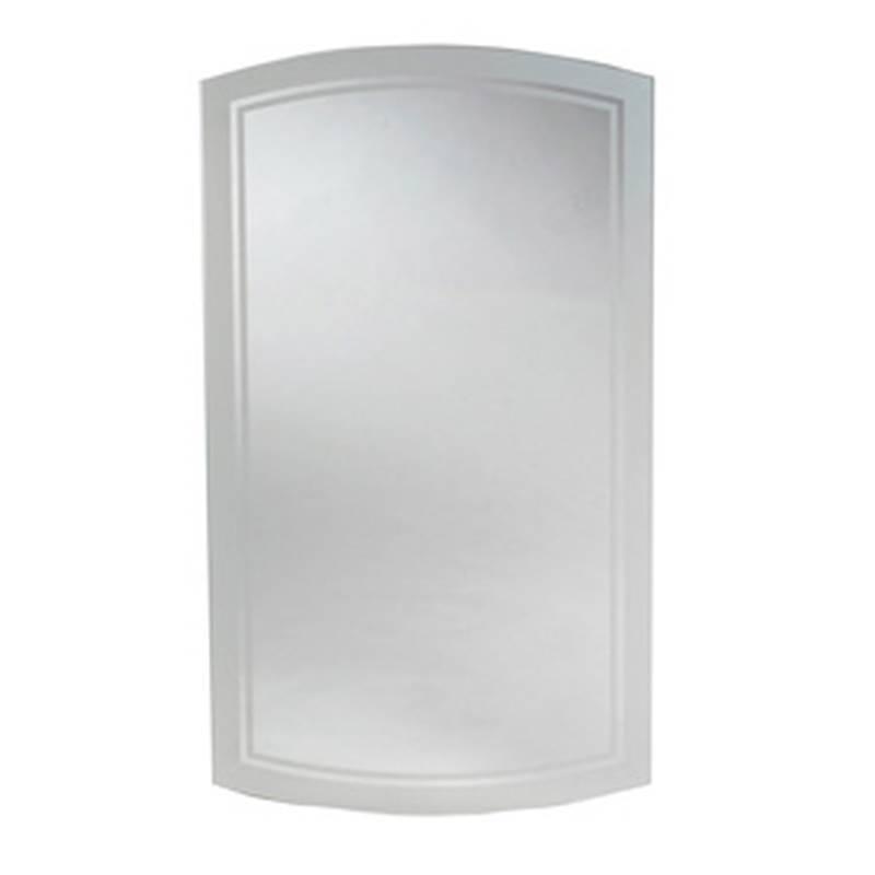 Zenith MM1029 Beveled Mirror Frameless Medicine Cabinet