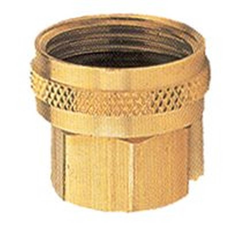 Gilmour 7FPS7FH Double Hose Connector, 3/4 X 3/4 in, FNPT