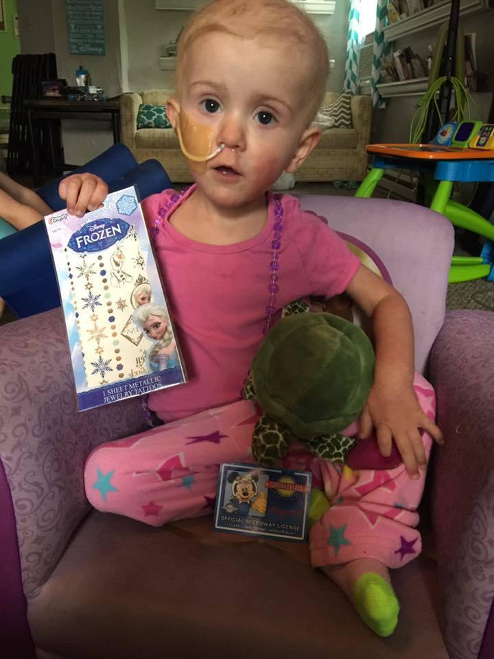 Parents Create Epic Bucket List For 2 Year Old With