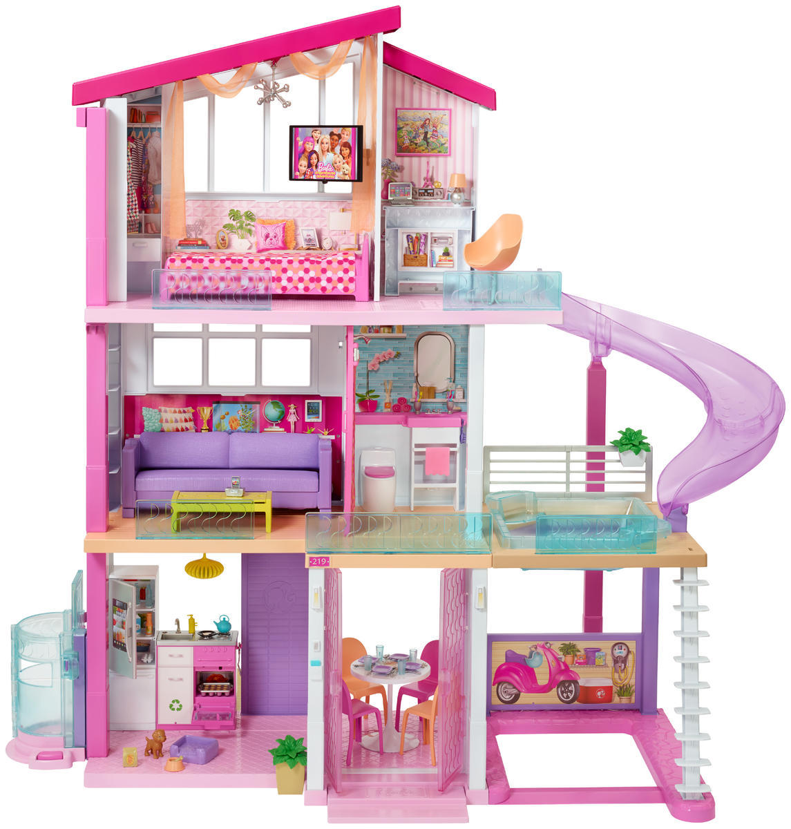 Barbie House Design The 2018 Barbie Dreamhouse Would Be A Million Dollar