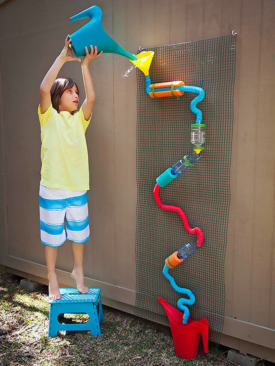Newborn Baby Activity Toys Summer Water Wall