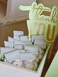Adorable Baby Shower Favors