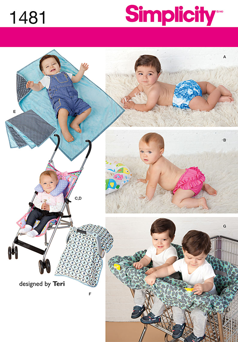 Babies Car Seat Covers Simplicity 1481 Babies 39; Accessories And Swim Diaper