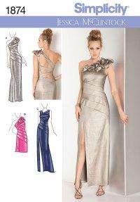 Bridesmaid Dress Patterns Simplicity Uk