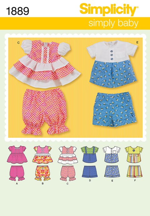 BOY GIRL ROMPER DRESS HAT OVERALL SEWING PATTERN 4AVL NEWBORN  18M Sewing Pattern Overalls