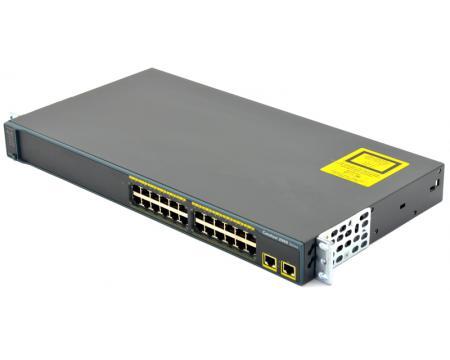 Cisco Catalyst 2960 WS-C2960-24TT-L 24-Port 10/100 Managed Switch
