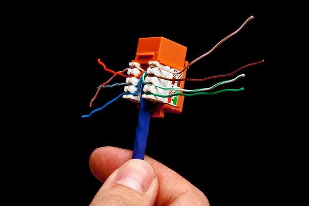 cat 5e jack wiring