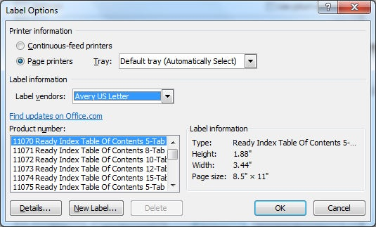 how to print avery 5160 labels in word - Selol-ink