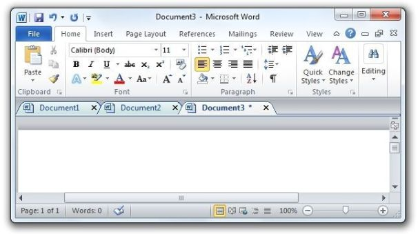 Add Document Tabs to Word, Excel, and PowerPoint PCWorld