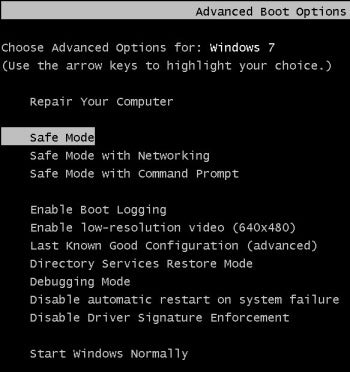 Start Your Pc In Safe Mode In Windows 10 Windows Help Restore Your System When You Cant Launch System Restore
