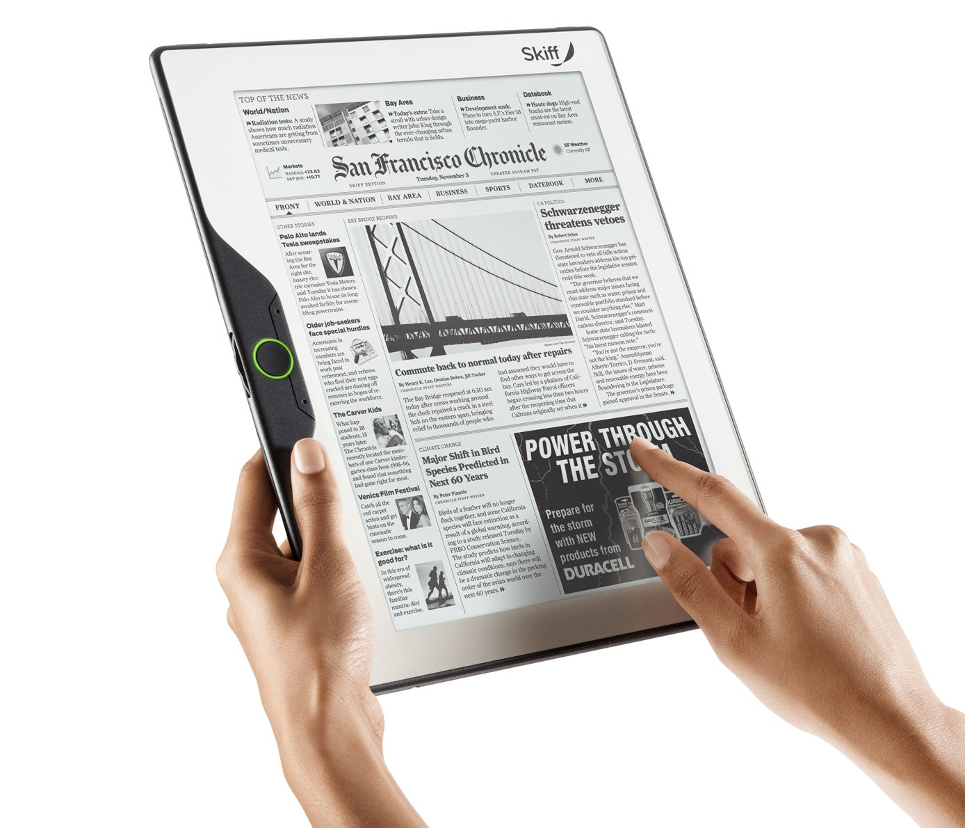 Lector Libros Epub Skiff 39s Innovative Big Screen E Reader To Debut At Ces