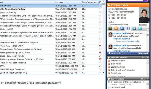 Microsoft Outlook 2007 10 Top Tips PCWorld