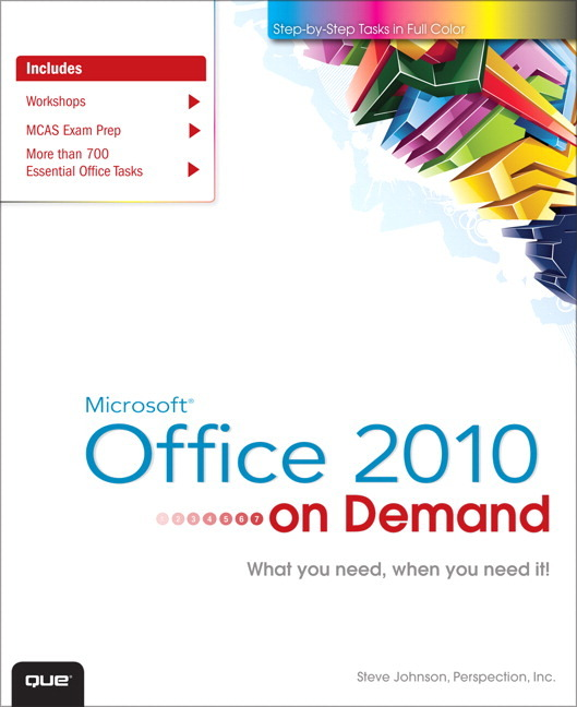 Pearson Education - Microsoft Office 2010 On Demand