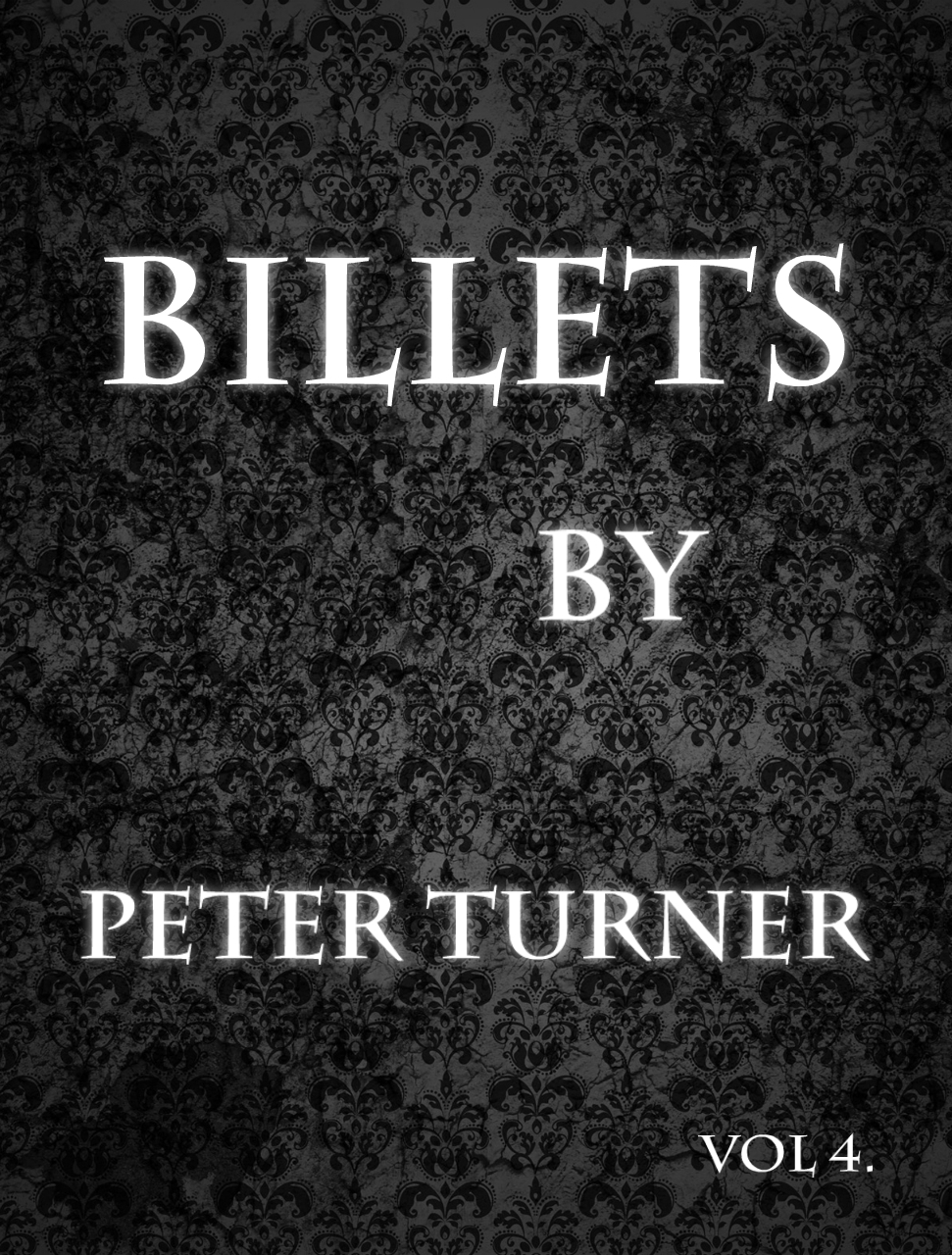 Billet Vol Vol 4 Billets By Peter Turner Instant Download