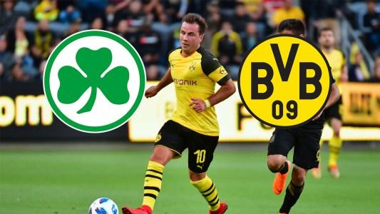 Greuther Fürth gegen BVB heute live im TV und LIVE-STREAM sehen: So geht's   Goal.com