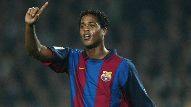 Kluivert Barca V Real In El Clasico One Of A Kind Goal