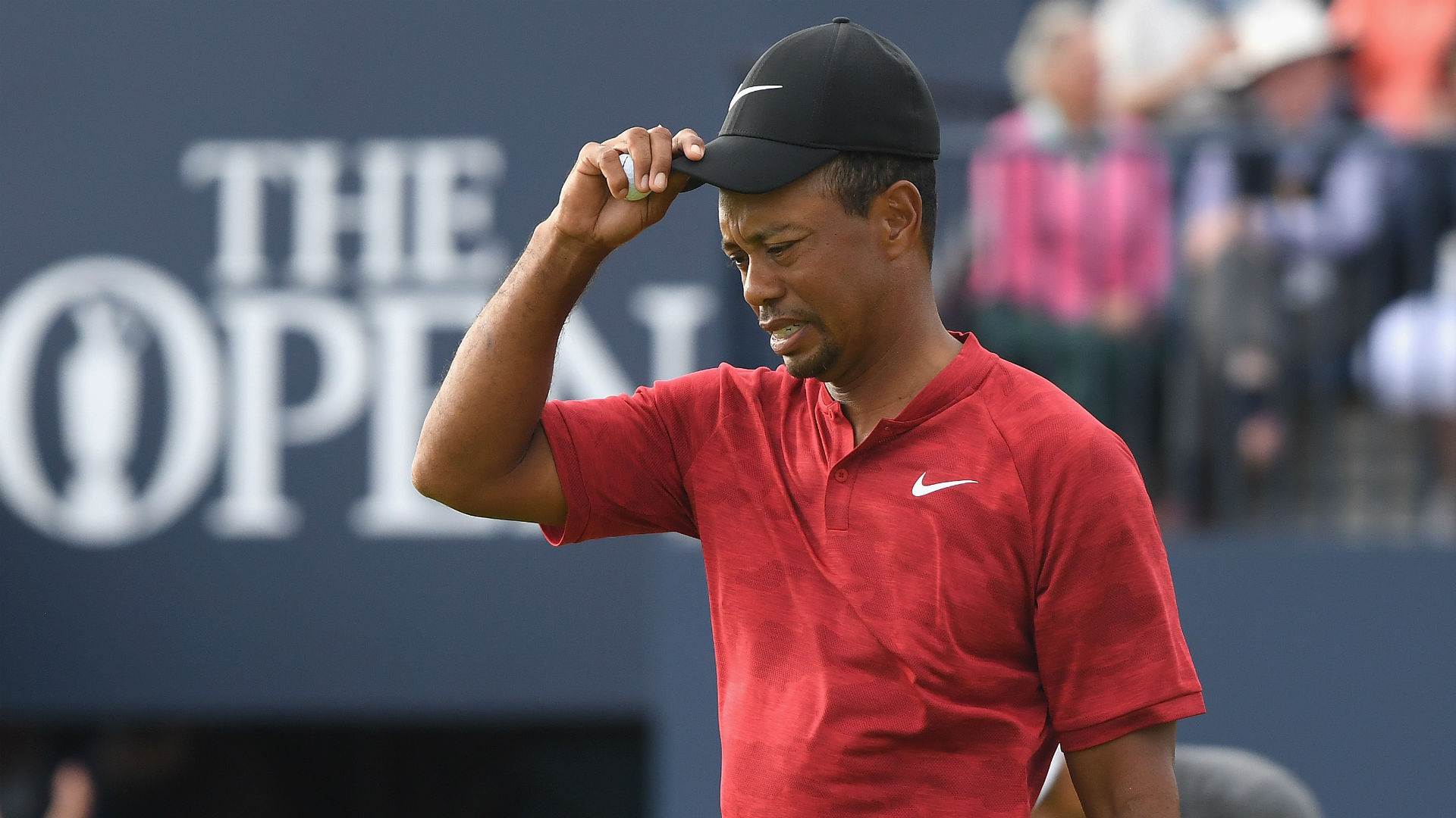 tiger woods british open 2018 results