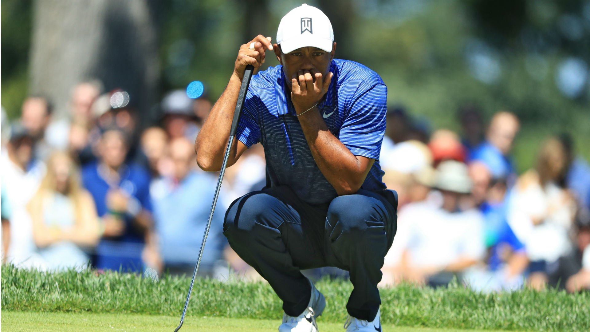 tiger woods score northern trust