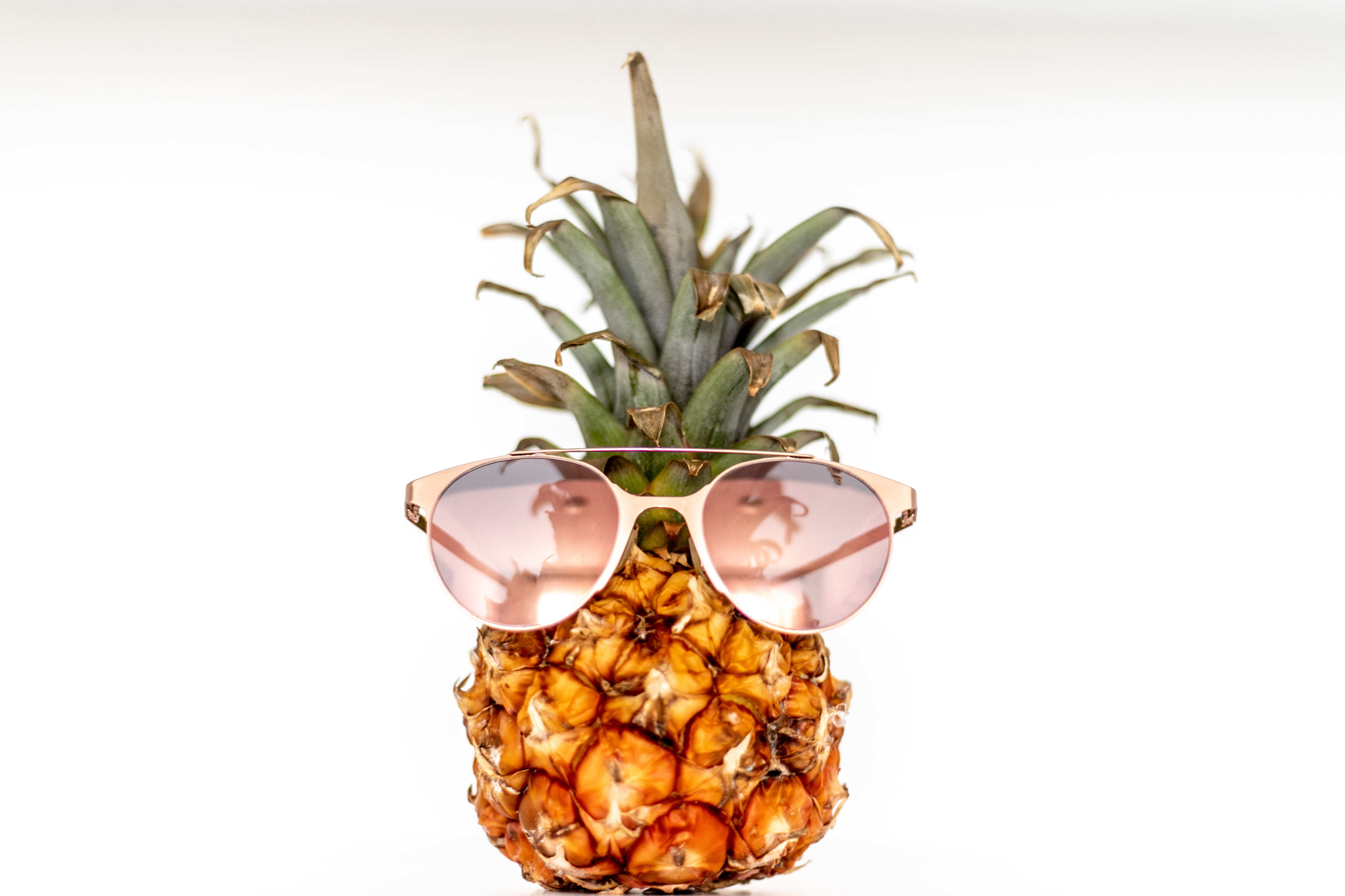 Pineapple With Sunglasses Tumblr Free Stock Photo Of Ananas Farbe Frische