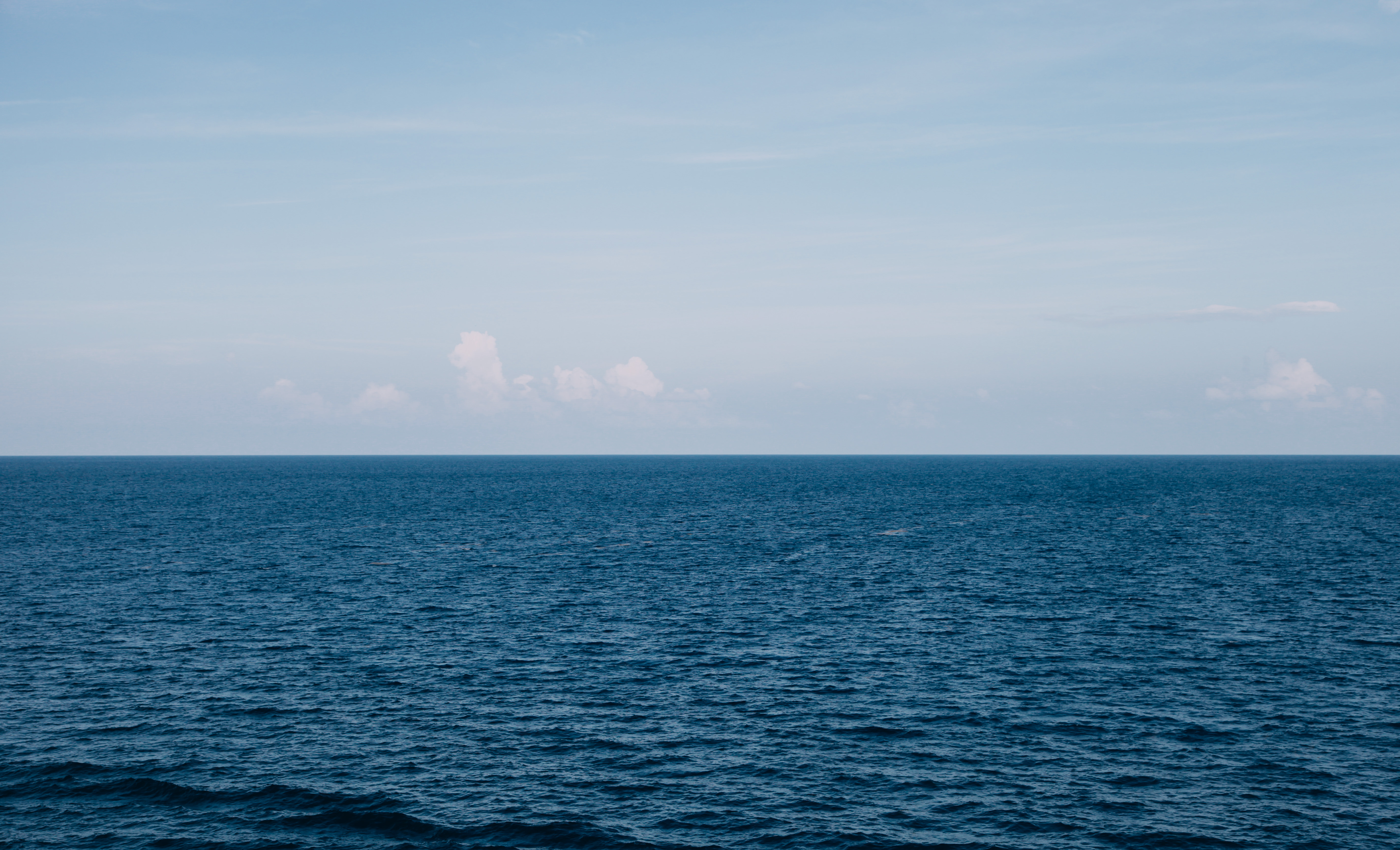 Black Iphone Wallpaper Hd Blue Body Of Water Under White Clouds 183 Free Stock Photo