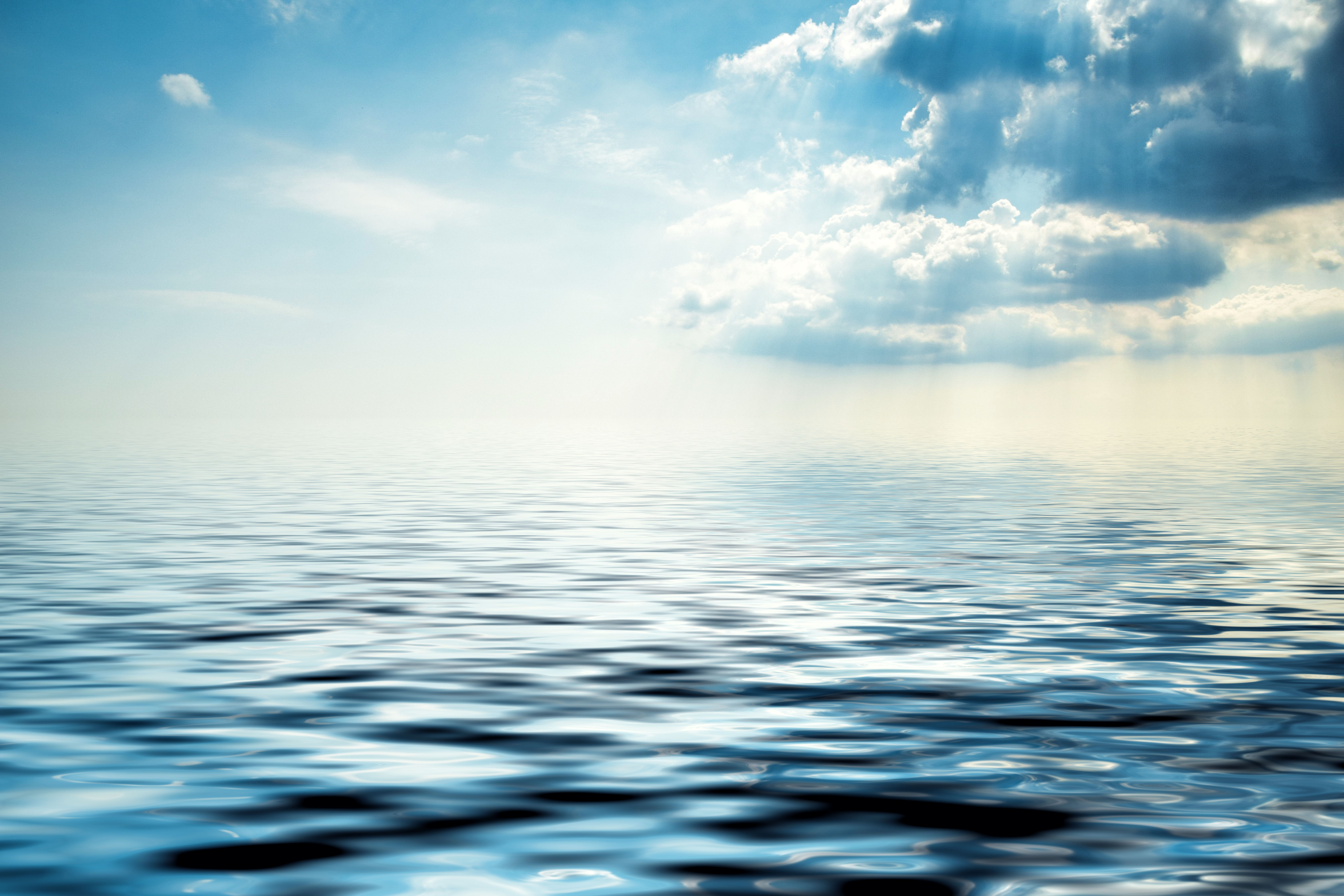 Lock Screen Wallpaper Hd Blue Body Of Water Under White Clouds 183 Free Stock Photo