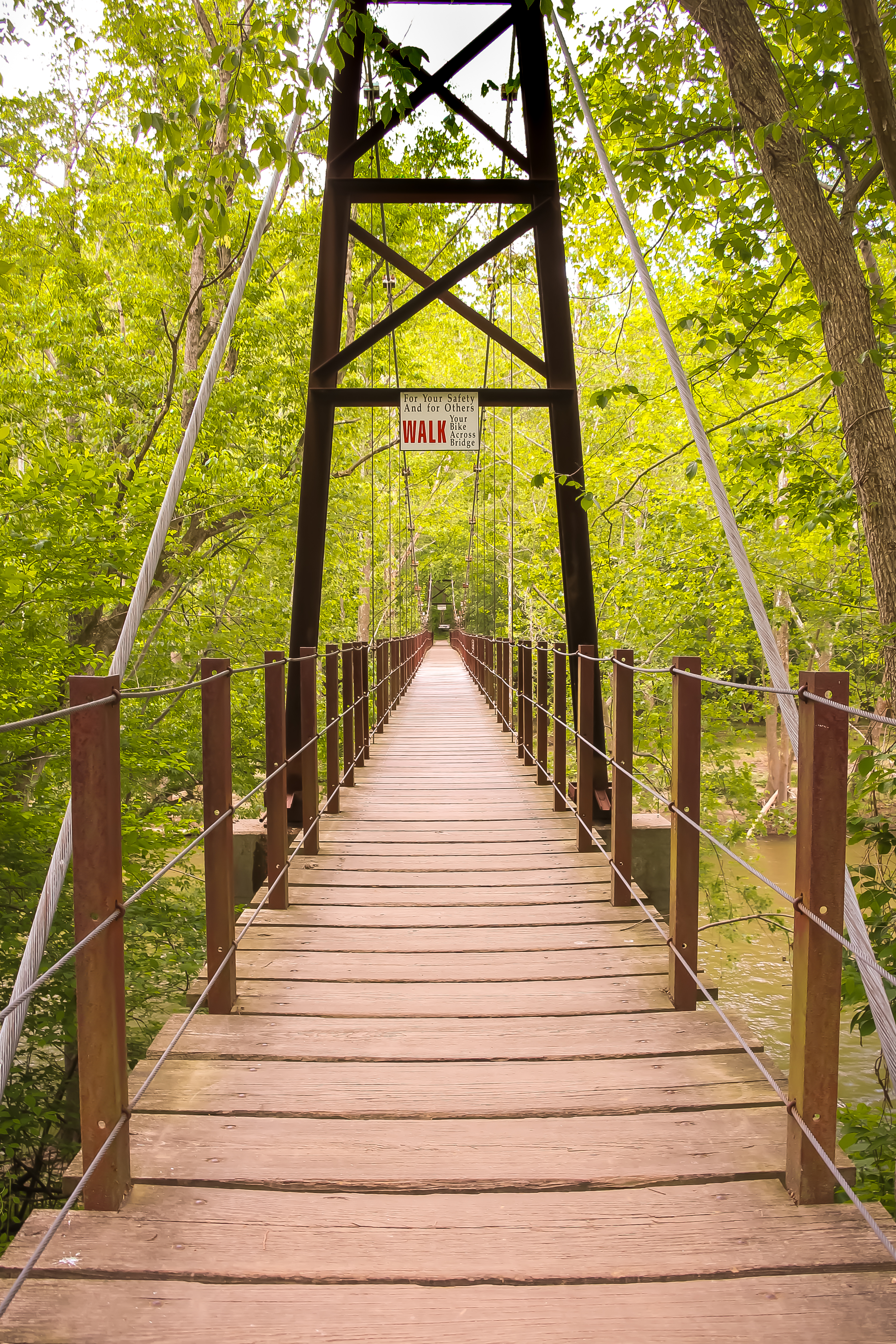 Pink Fall Wallpaper Pink And Brown Wooden Bridge 183 Free Stock Photo
