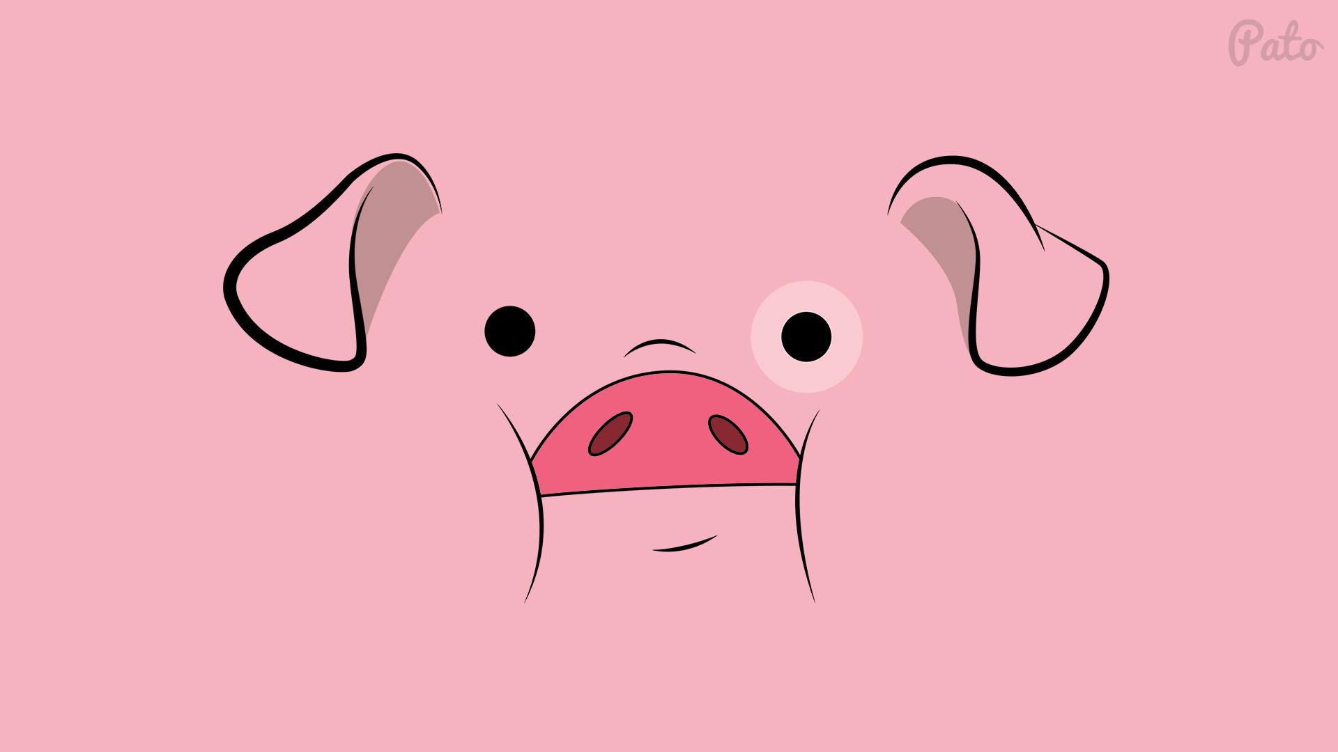 Cute Baby Pig Wallpaper Free Stock Photo Of Gravity Falls Pato Ping