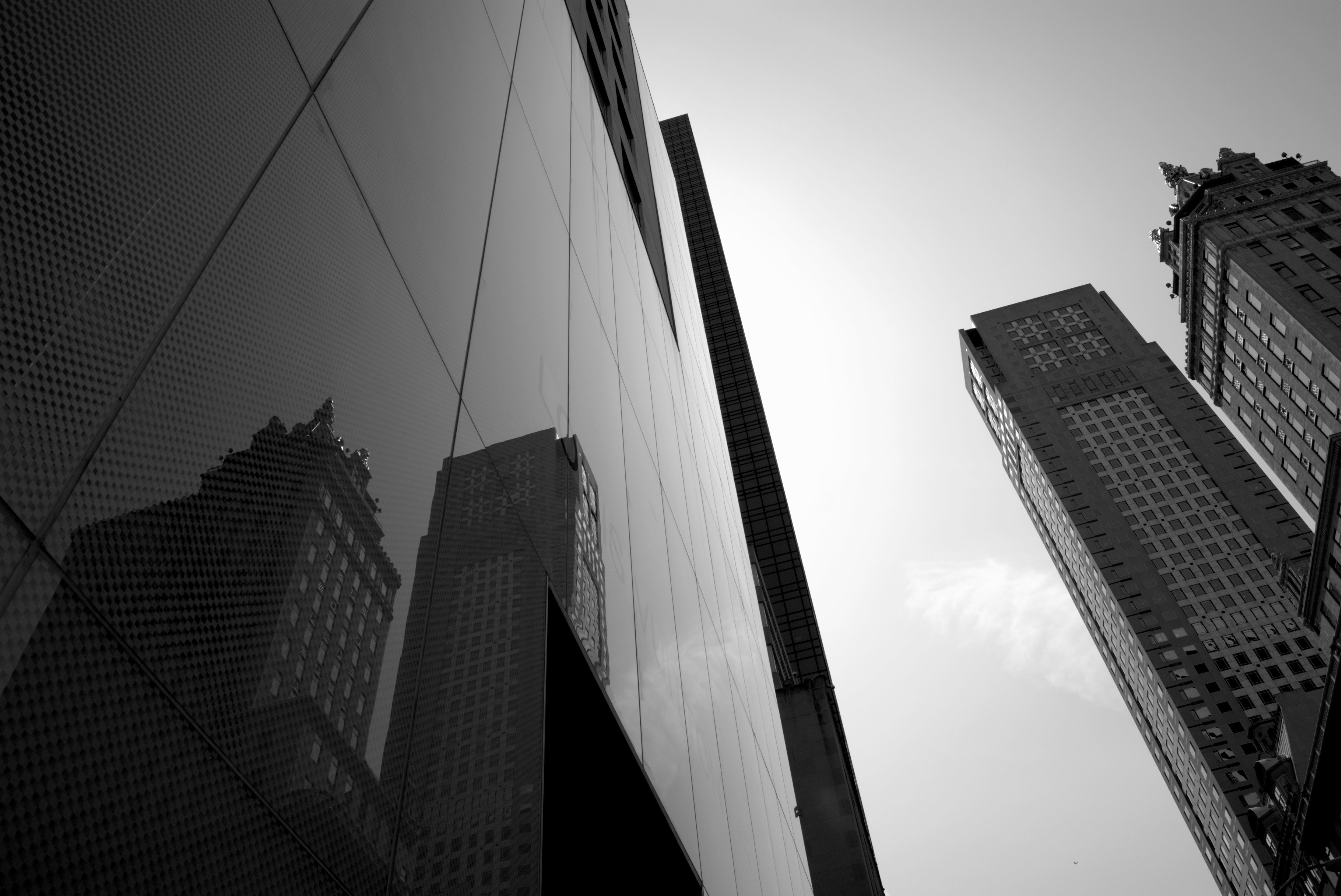 Building Construction Wallpaper Hd Gray Scale Image Of Building 183 Free Stock Photo