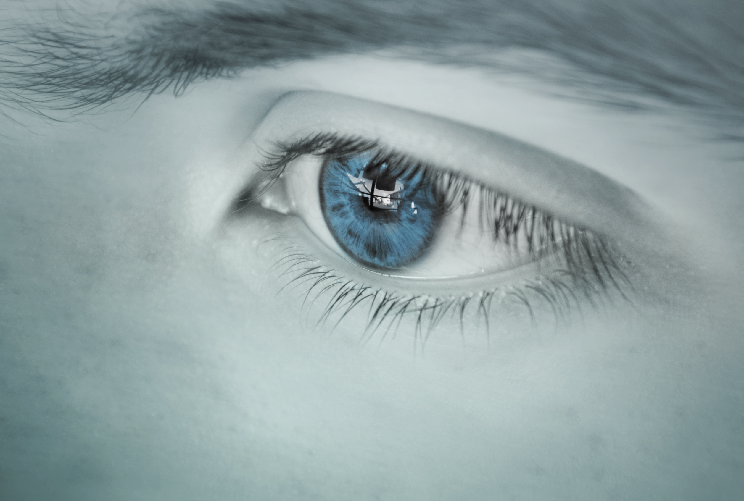 Wallpaper Sad Girl Love Close Up Of Human Eye 183 Free Stock Photo